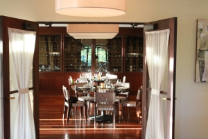 BLT private dining entrance