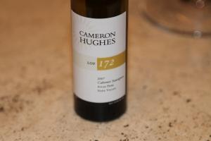 Lot 172 wine bottle