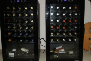 two wine fridges
