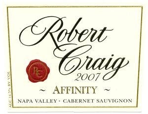 Robert Craig Wine label