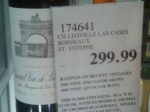 100 point wine