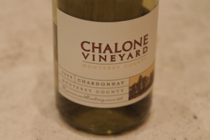 Chalone Chardonnay bottle