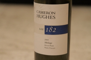 lot 182 label