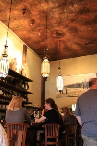 Napa valley wine bar