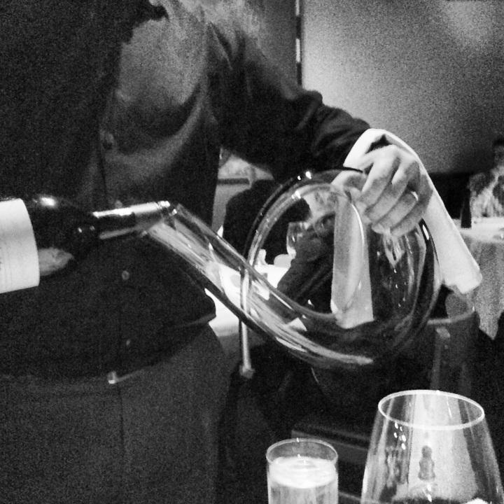 wine decanter photo