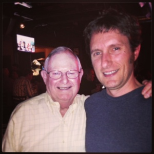 a picture of robert craig and weekly wine journal writer Tim Hilcove