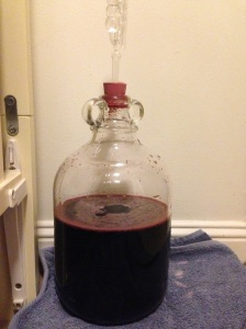 Carboy with siphon
