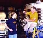 Making mountain Cabernet in the early 1990's