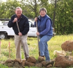Breaking ground on Howell mountain in 2000