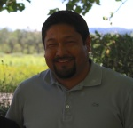 Wine-maker Alejandro Alfaro