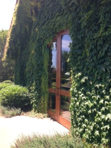 The entrance to Rutherford Grove winery