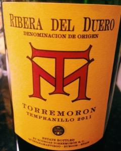 2011 Torremoron Ribera del Duero