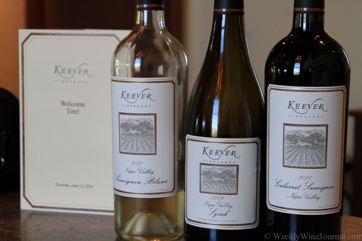Keever Vineyards, adding the personal touch