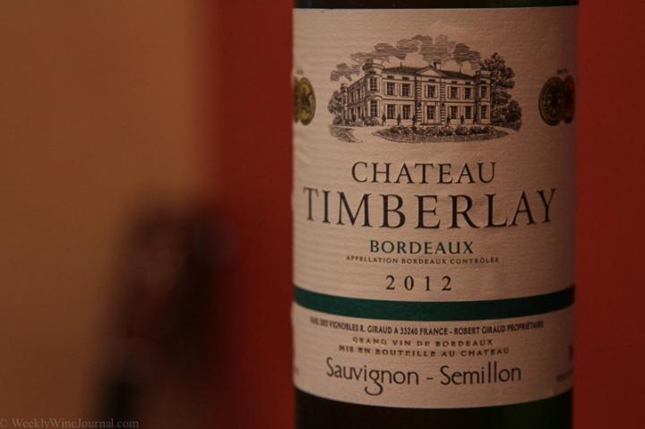 white bordeaux bottle
