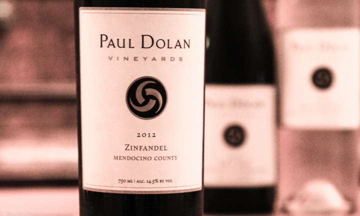 paul dolan zinfandel bottle